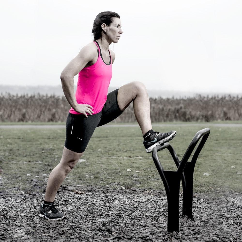Träningsutrustning för stretching øvelser