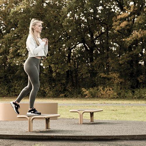Träningsutrustning för aerobics träning