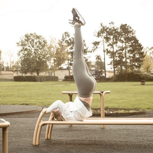 Träningsutrustning för mage fitness
