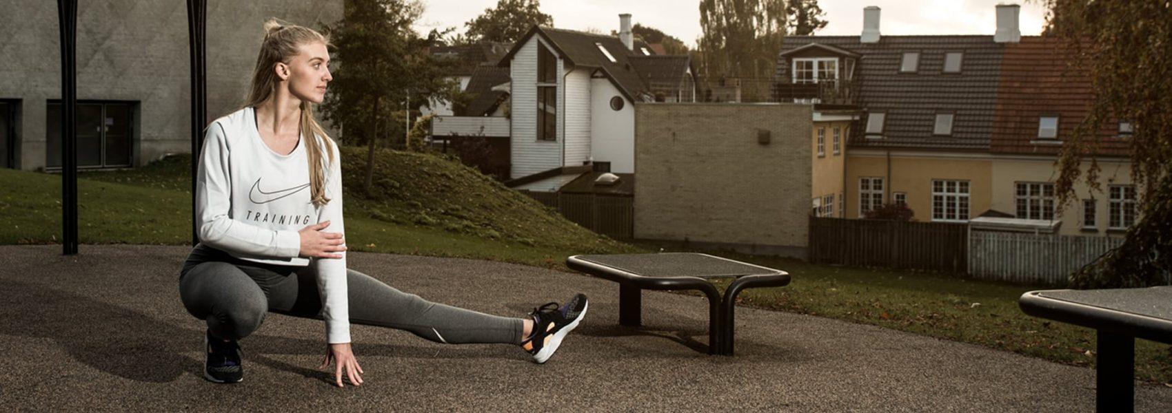 Udendoers fitnessredskab til traening i det fri minimal vedliogeholdelse